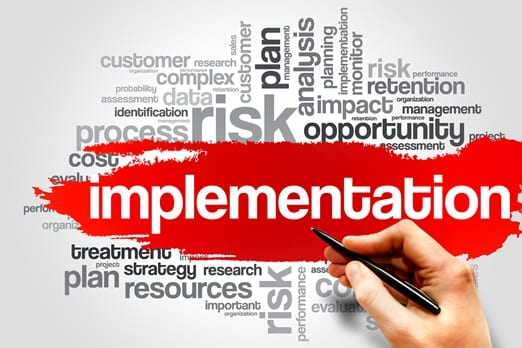 Technology rollout companies must focus heavily on implementation.